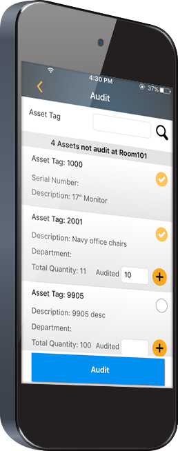 Asset Tracking App for iOS and Android